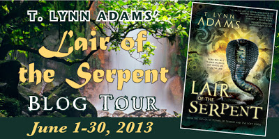 Lair of the Serpent by T. Lynn Adams