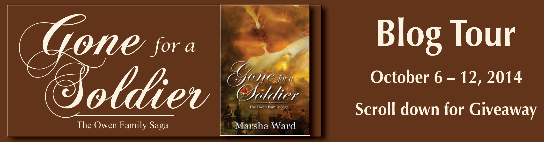 Review + Giveaway: Gone for a Soldier by Marsha Ward